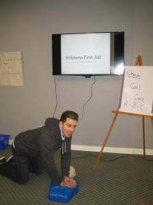 Emergency First Aid Course in Kelowna, B.C.