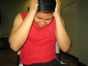 A headache is one of the most common symptoms of a hangover